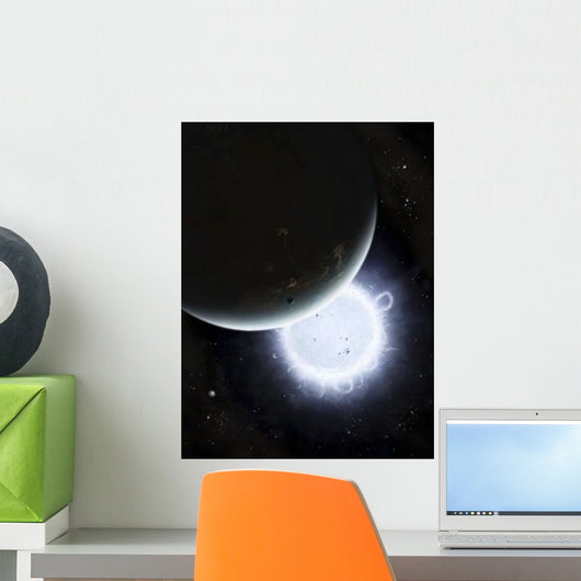 Tiny Moon Rakka Ume Wall Decal
