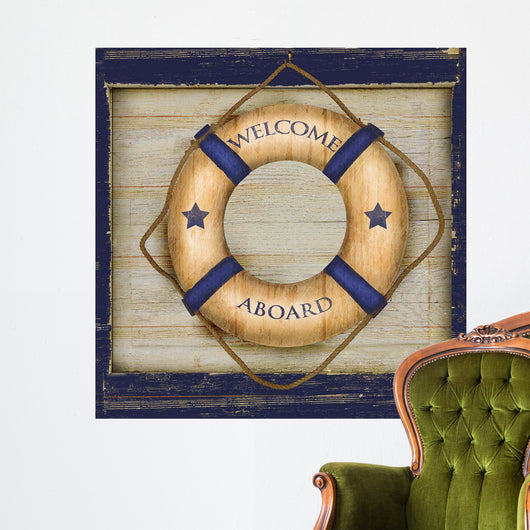 Welcome Aboard Wall Mural
