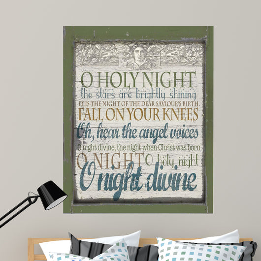 Oh Holy Night Wall Mural