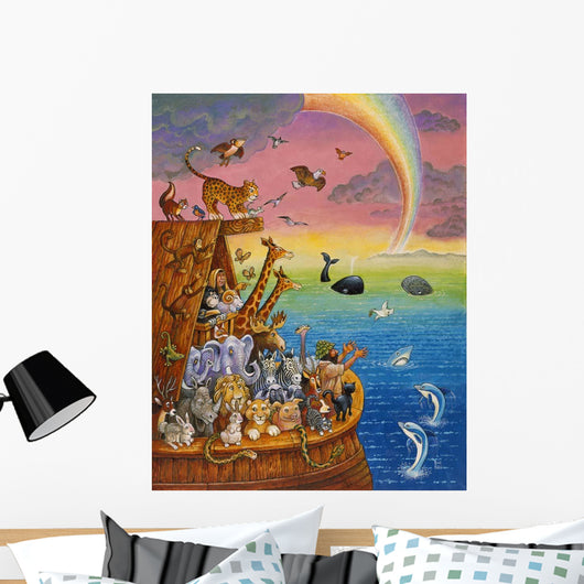 Noah & The Rainbow Wall Mural