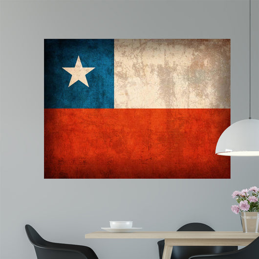 Chilean Flag Wall Mural
