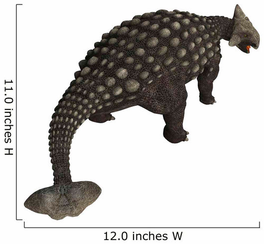 Ankylosaurus, an armored dinosaur from the Cretaceous Period. Wall Decal