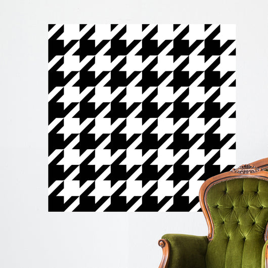 Classic Houndstooth Wall Mural
