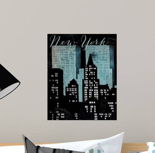 Retro Cities Wall Mural