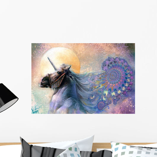The Unicorn Wall Mural