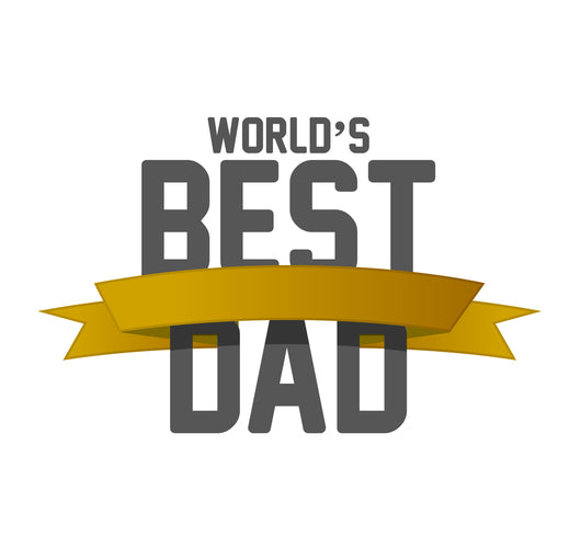 World's Best Dad Wall Decal