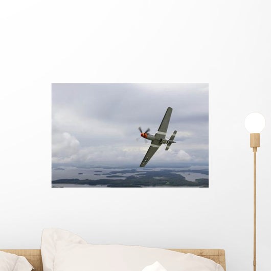 North American P-51 Mustang Wall Decal Design 3