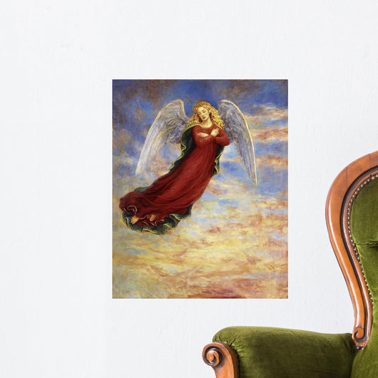 Angel In The Sky Wall Mural