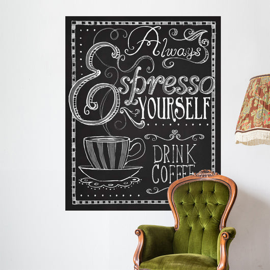 Espresso Yourself Wall Mural