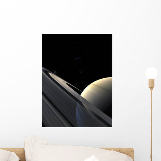 Rings Saturn Wall Decal
