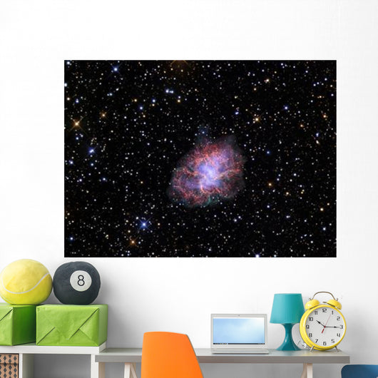 Crab Nebula Wall Decal Design 2