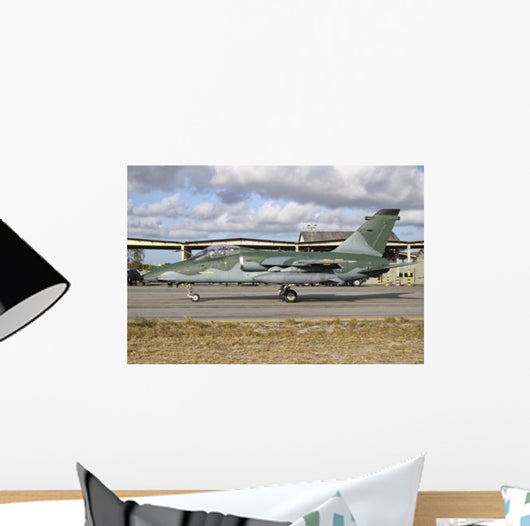 Brazilian Air Force Embraer Wall Decal Design 2