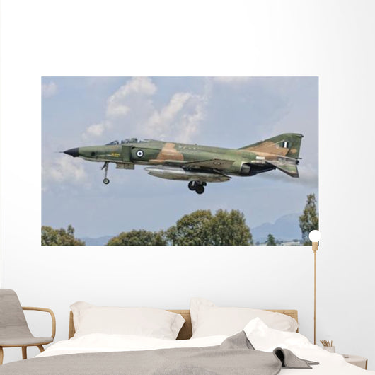 F-4 Phantom Hellenic Air Wall Decal Design 1