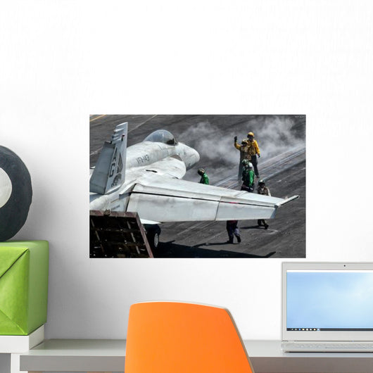 Flight Deck Crew Position Wall Decal