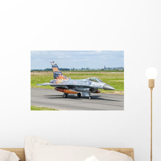 Turkish Air Force F-16c Wall Decal