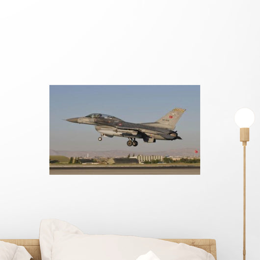 F-16b Turkish Air Force Wall Decal Design 1