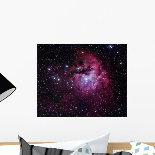 Pacman Nebula Wall Decal