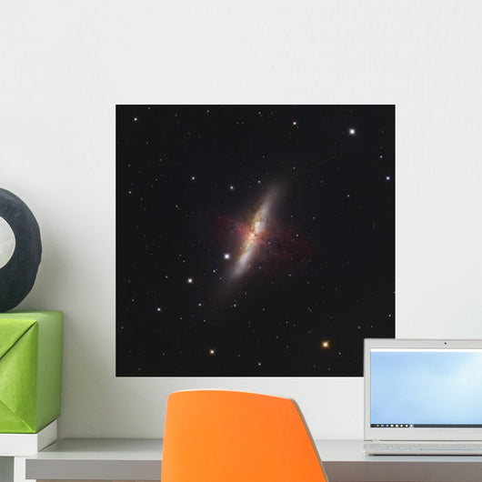 Messier 82 Starburst Galaxy Wall Decal