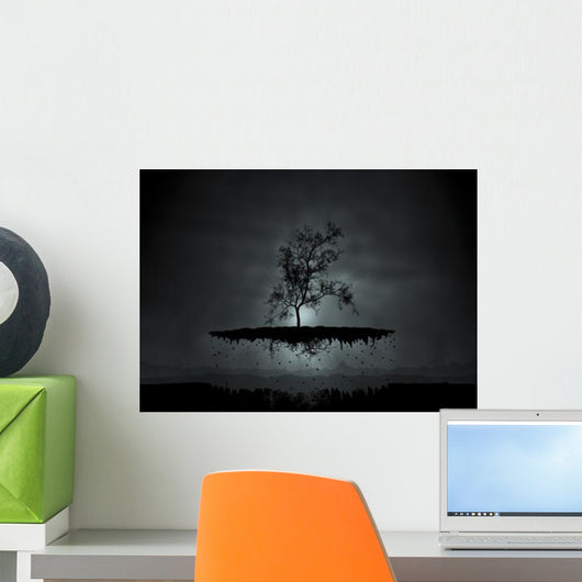Digitally Generated Image Flying Wall Decal Design 3