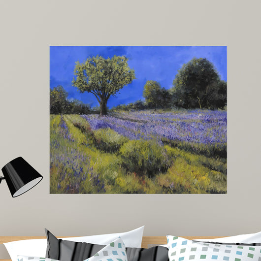 Little Lavender Country Wall Mural