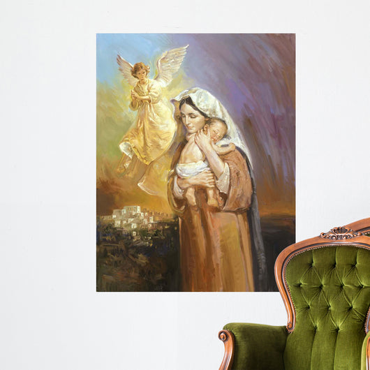 Mary Wall Mural