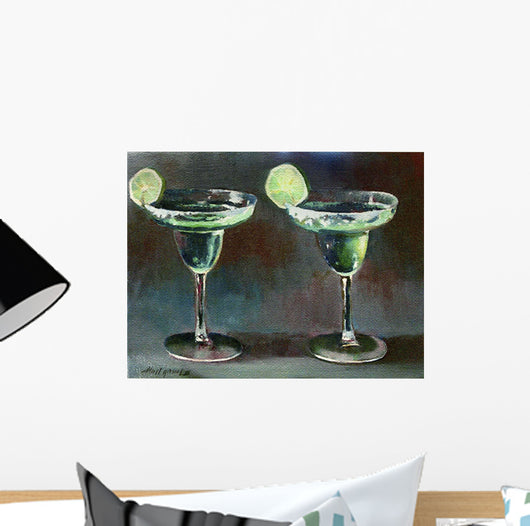 Two Margarita Wall Mural