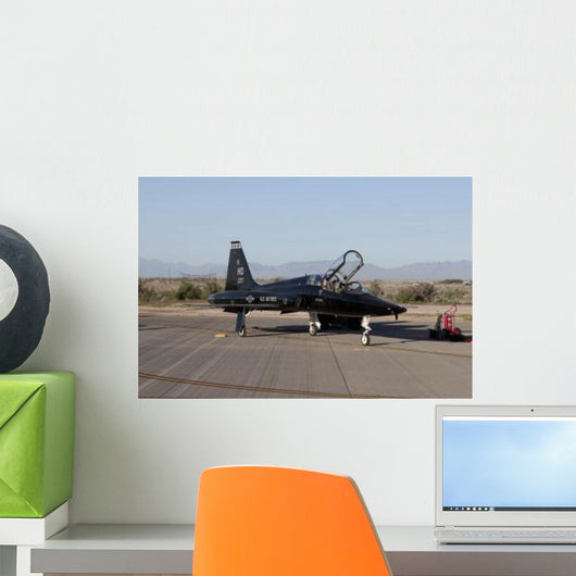 T-38 Pilot Prepares to Wall Decal Design 3
