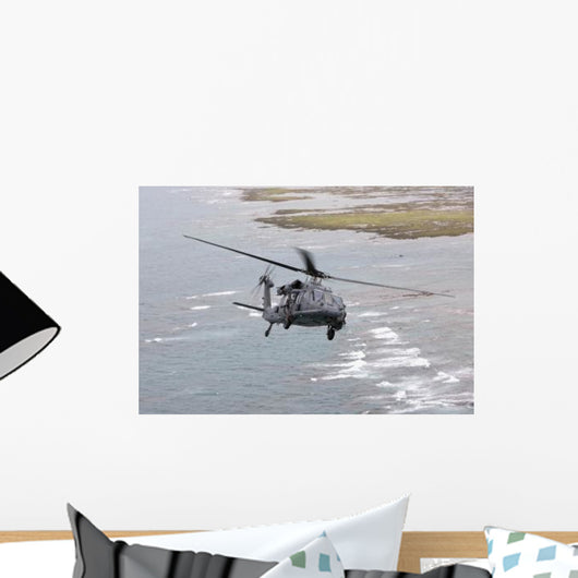 Hh-60g Pave Hawk Flies Wall Decal Design 1