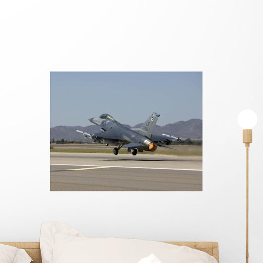 F-16 Fighting Falcon Takes Wall Decal Design 2