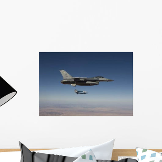 F-16 Fighting Falcon Releases Wall Decal Design 1