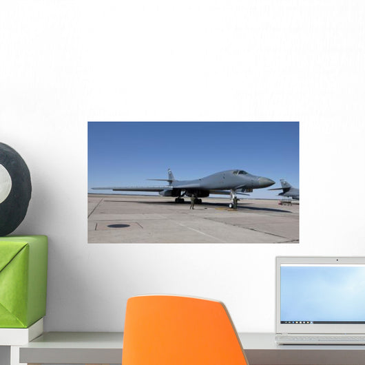 B-1b Lancer Goes through Wall Decal Design 4