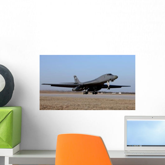 B-1b Lancer Takes off Wall Decal Design 4
