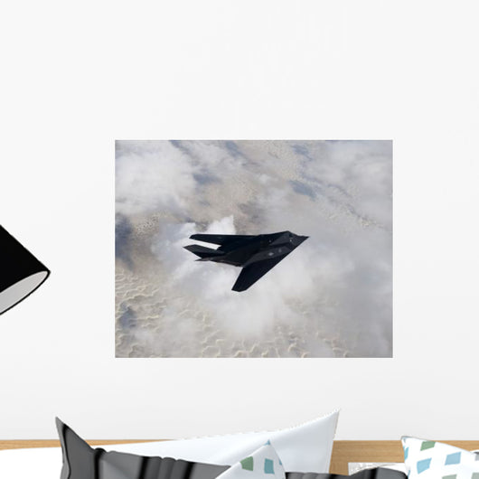 F-117 Nighthawk Stealth Fighter Wall Decal Design 3