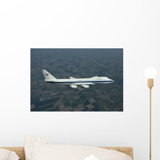 E-4b National Airborne Operations Wall Decal Design 3