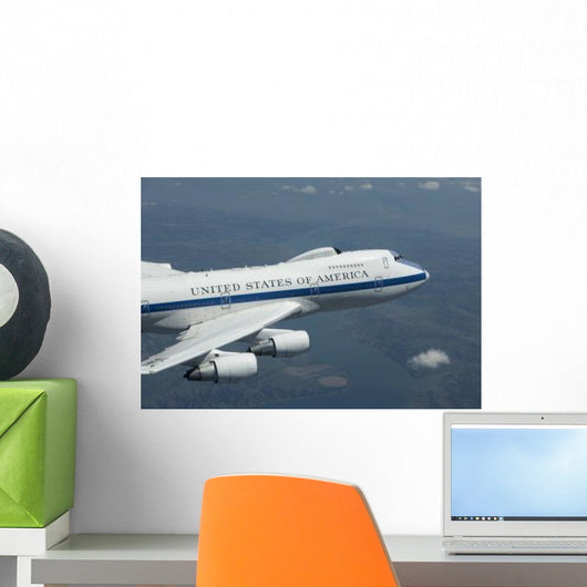 E-4b National Airborne Operations Wall Decal Design 2
