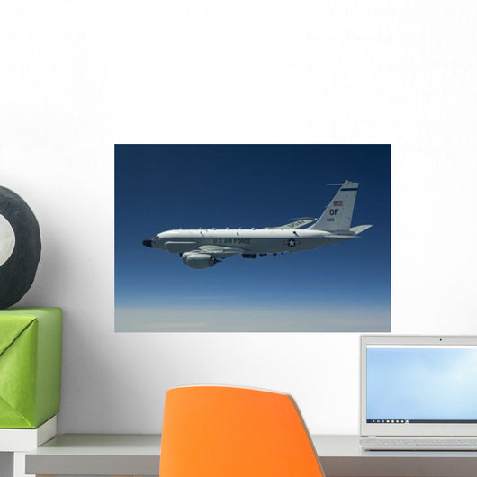 Rc-135w Rivet Joint Aircraft Wall Decal Design 4