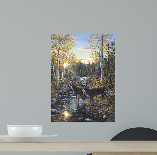 Whitetail Deer Wall Mural
