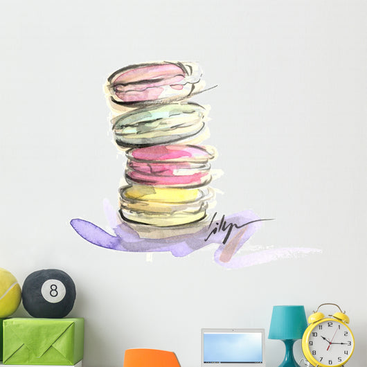 Macaroon Delight Wall Decal