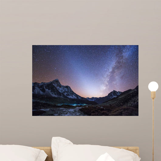 Milky Way and Zodiacal Wall Decal Design 2