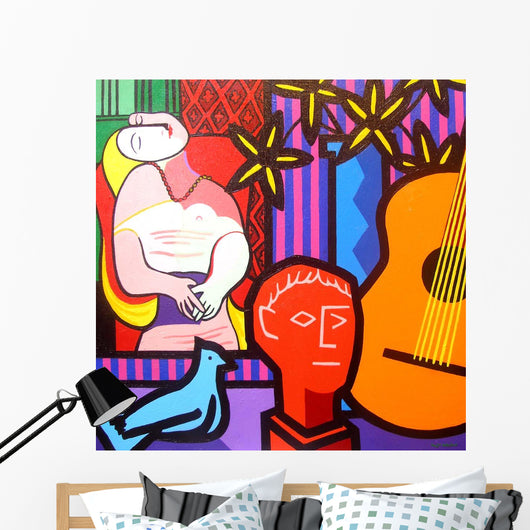 Still Life With Picassos Dream Wall Mural