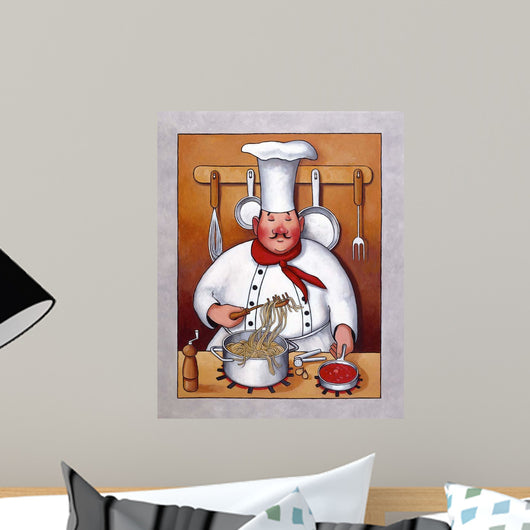 Chubby Chef Wall Mural
