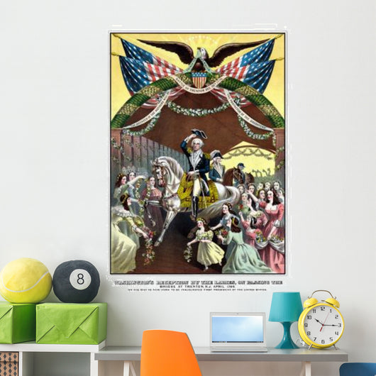 American Revolutionary War Print Wall Mural