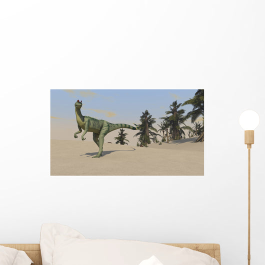 Dilophosaurus Hunting for Its Wall Decal Design 8
