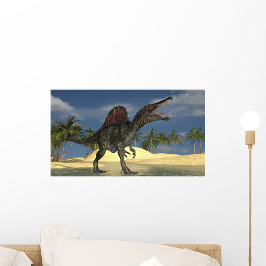 Spinosaurus Hunting for Its Wall Decal Design 1