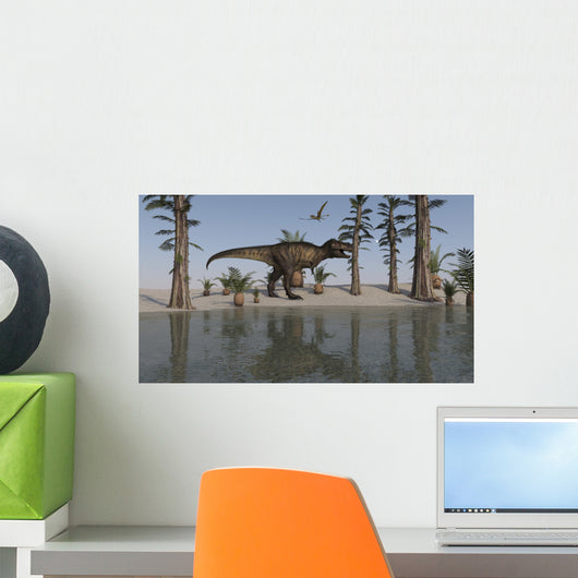 Tyrannosaurus Rex Hunting for Wall Decal Design 5
