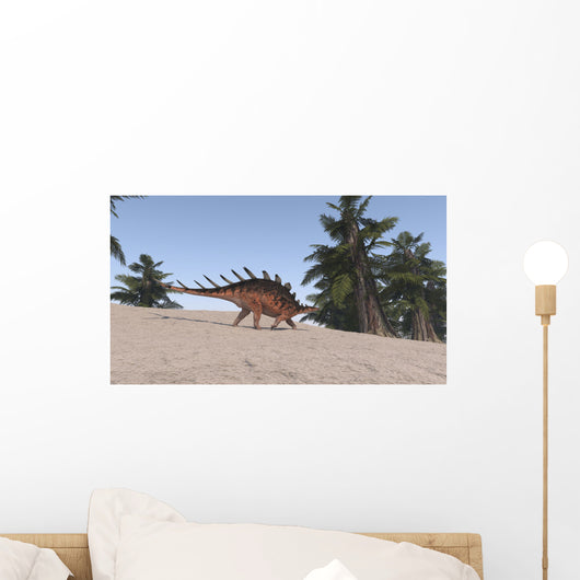 Kentrosaurus Prehistoric Environment Wall Decal