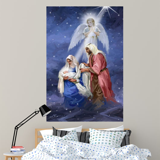1096 Joseph And Mary Wall Mural