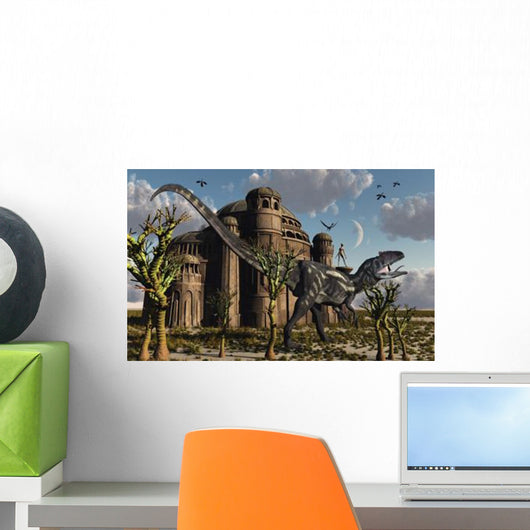 Artist's Concept Reptoid Race Wall Decal Design 2