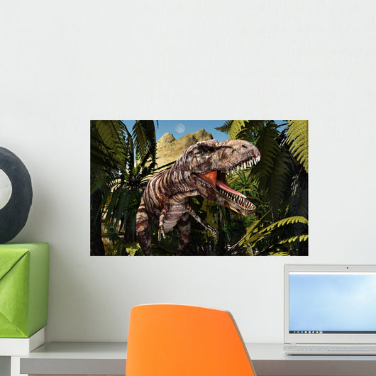Tyrannosaurus Rex Lookout for Wall Decal