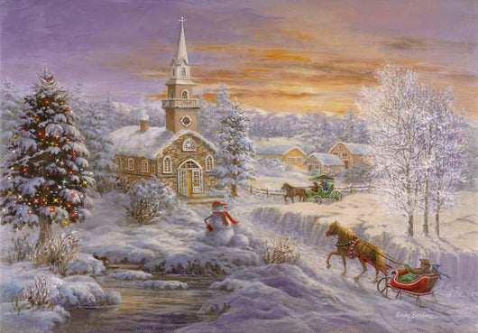 Holiday Worship Wall Mural